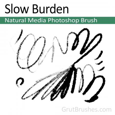 Slow Burden - Photoshop Natural Media Brush