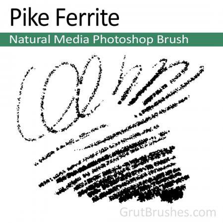 Pike Ferrite - Photoshop Natural Media Brush