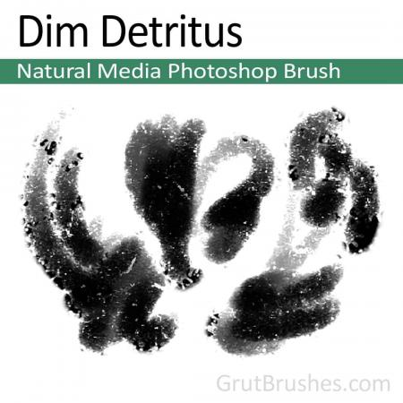 Dim Detritus - Photoshop Natural Media Brush