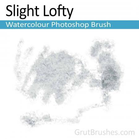 Slight Lofty - Photoshop Watercolor Brush