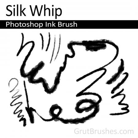 Silk Whip - Photoshop Ink Brush