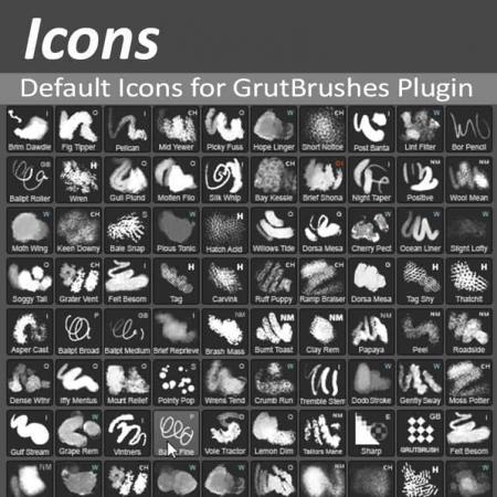 GrutBrushes Plugin Icons
