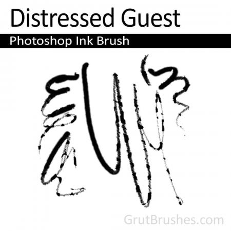 Distressed Guest - Photoshop Ink Brush
