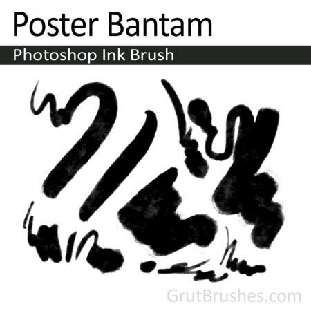 Poster Bantam - Photoshop Ink Brush
