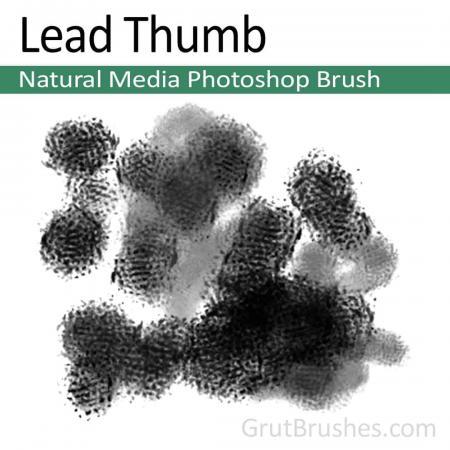 Lead Thumb - Photoshop Natural Media Brush