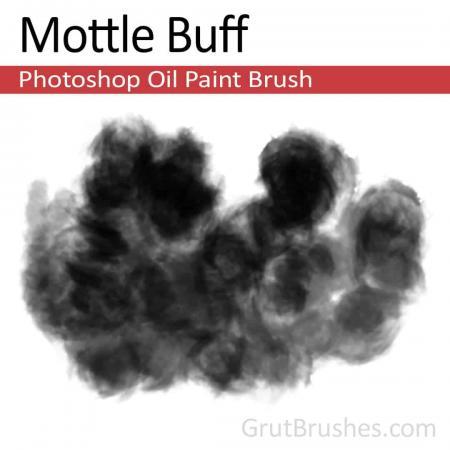 Mottle Buff - Photoshop Oil Brush