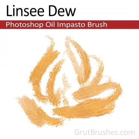 Linsee Dew - Impasto Oil Photoshop Brush