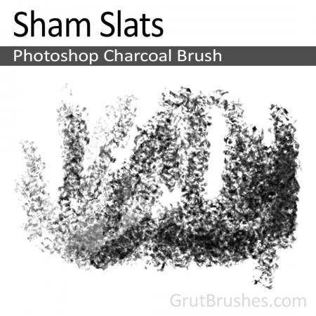 Sham Slats - Photoshop Charcoal Brush