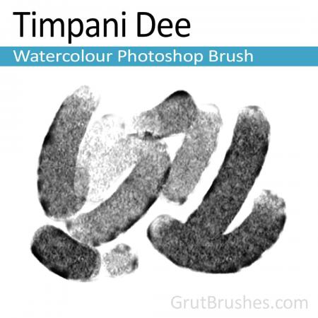 Timpani Dee - Photoshop Watercolour Brush