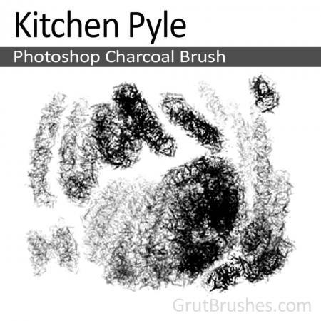 Kitchen Pyle - Photoshop Charcoal Brush