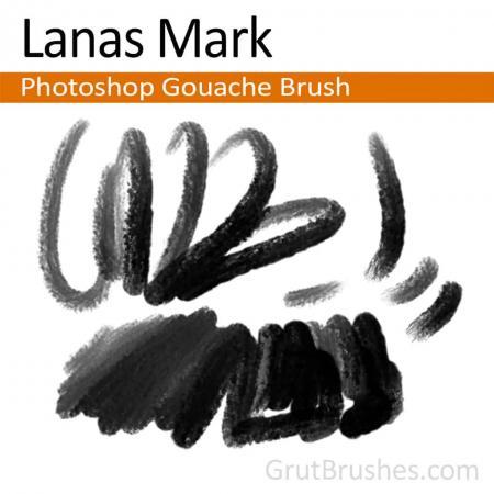 Lanas Mark - Photoshop Gouache Brush