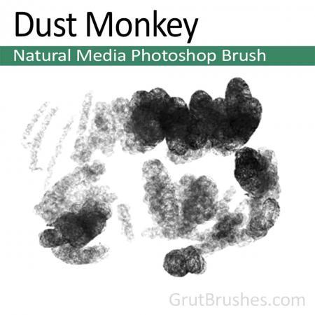 Dust Monkey - Photoshop Natural Media Brush